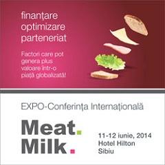 Daciana Sârbu și Daniel Constantin vor deschide Expo-Conferința Meat & Milk 2014