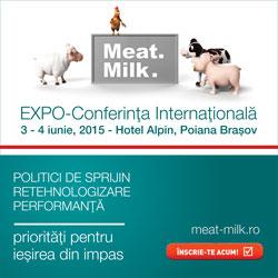 Meat&Milk 2015: Inovarea si retehnologizarea – trend sau necesitate?